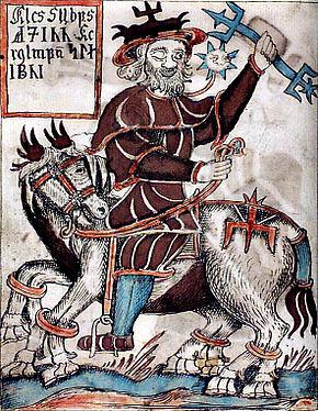 290px-Odin_riding_Sleipnir