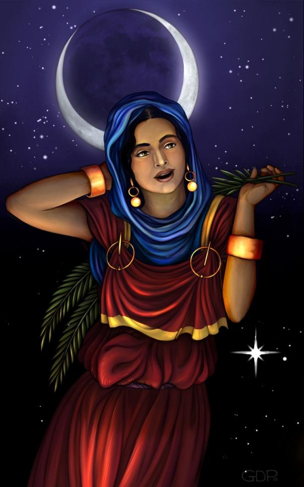 al-uzza painting 2x4