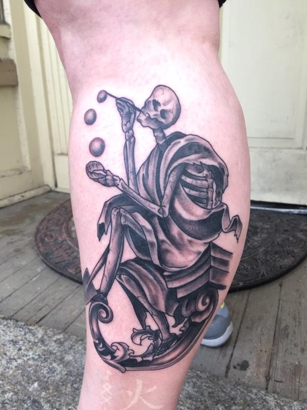 death on my leg