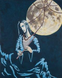 Moon Flautist