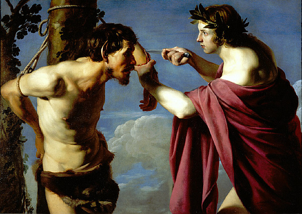Bartolomeo_Manfredi_-_Apollo_and_Marsyas