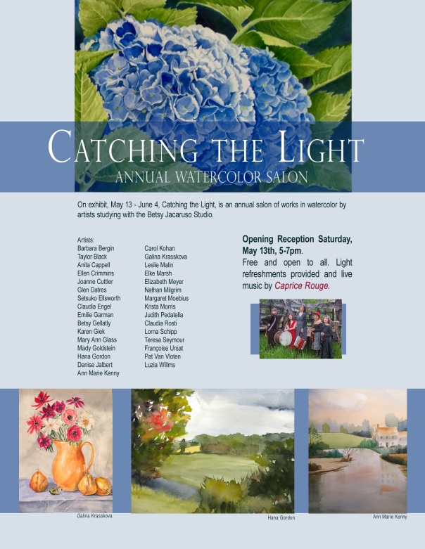 Catching the light 2017 poster