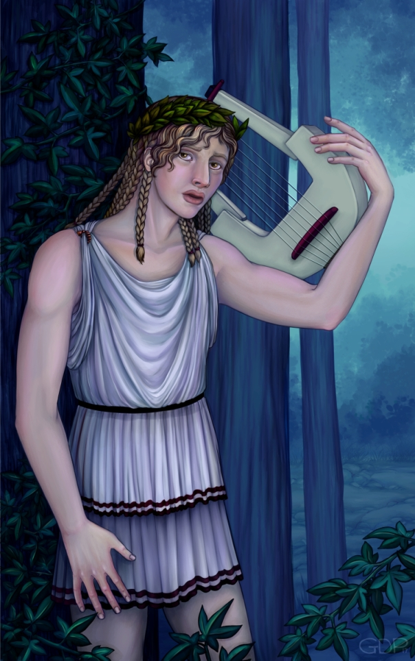 orpheus painting 2x4