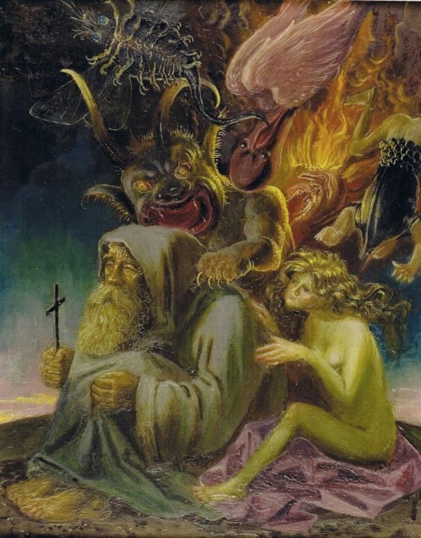 Otto Dix (1891-1969), 'La tentazione di sant'Antonio II', 1940