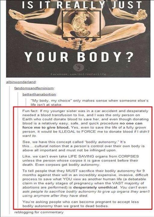 bodily autonmy
