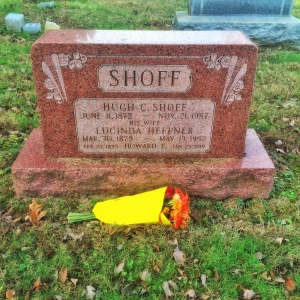 Hugh and Lucinda Shoff grave