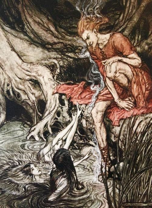 rackham loki with mermaids