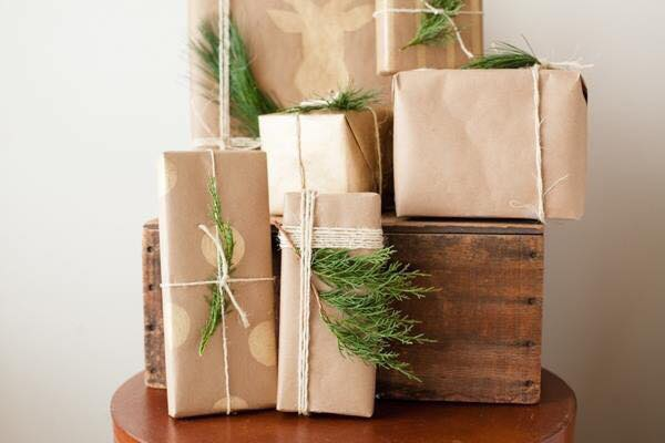 Wrapped Holiday Gifts as a visual accompaniment to the textual blog post.