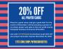 20% Off Prayer Cards inNovember